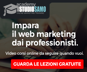 Corsi web marketing online: Academy Studio Samo